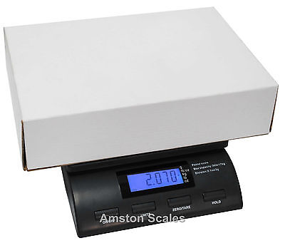 Digital Postal Scale 56 Lb X 0.2 Oz Shipping Mail Easy To Use 8x6 Inch Platform