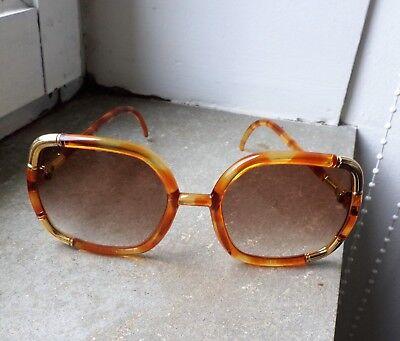 Lunette de Soleil Vintage Ted Lapidus Superbe état Genre B. Bardot
