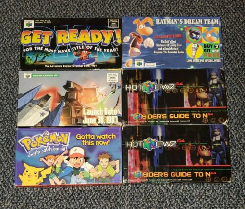 n64 VHS promo tapes