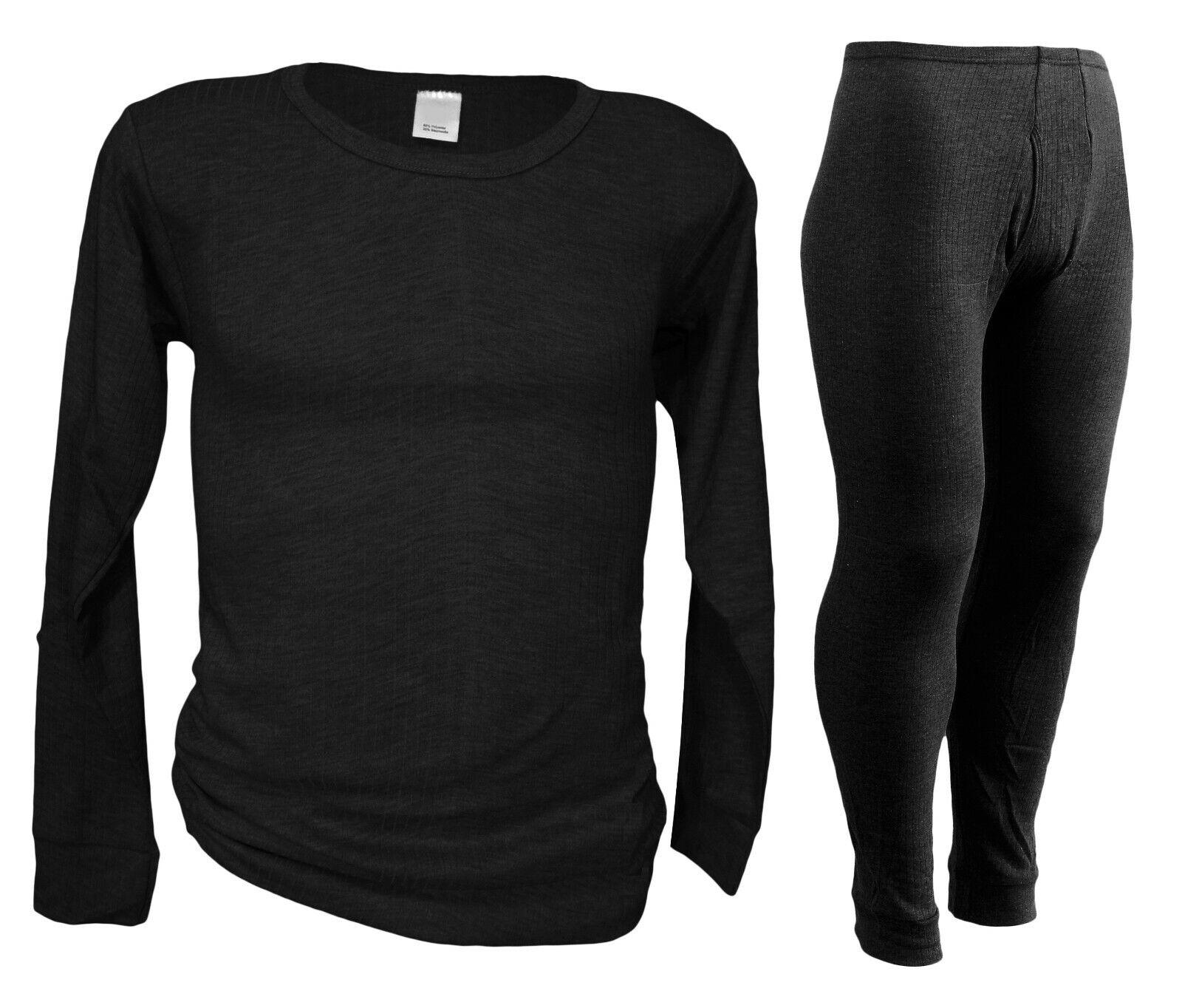 Funktionsunterwäsche Herren Übergröße SET / Long Sleeve + lange Unterhose  2-4XL