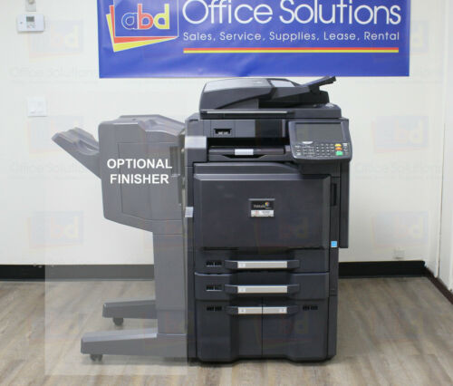 Kyocera Taskalfa 3551ci A3 Color Laser Copier Printer Scanner Mfp 35ppm 5551ci