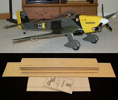 "71"" wing span Royal Junkers JU87D-5 Stuka R/c Plane short kit/semi kit and plans for sale  Shipping to Ireland"
