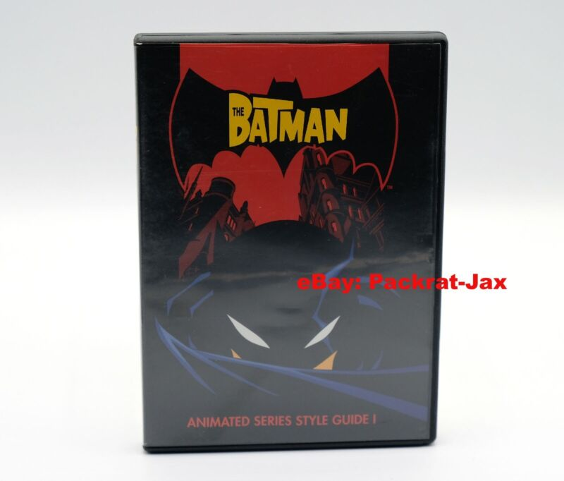 """The Batman"" Style Guide (Volume 1, DVD + Book, 2004)"