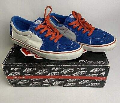 Vans Shoes AV SK8 Low Imperial Blue Red Anthony Van Engelen 2008 Skate Size 10