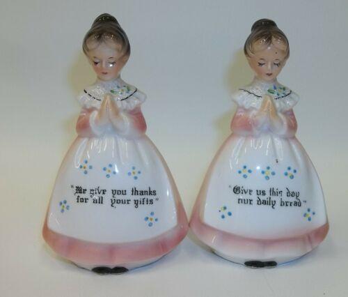 Mother in the Kitchen - Enesco Prayer Ladies - Salt Pepper Shaker Set