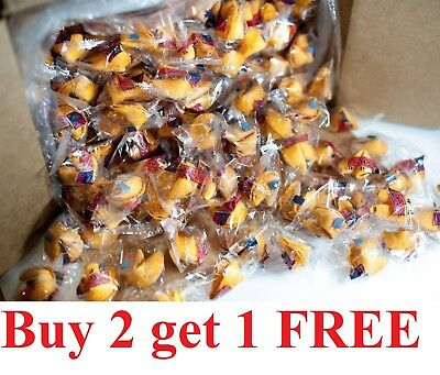 buy 2 get 1 free 100 Individually Wrapped Traditional Fortune Cookies - Buy Fortune Cookies