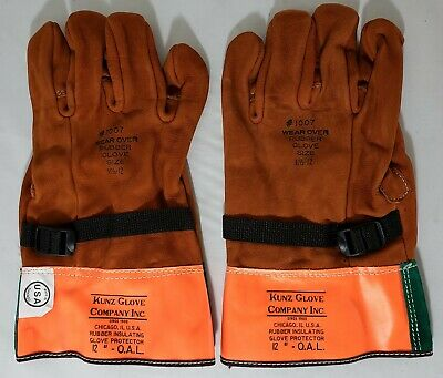 Gunz 1007 Glove Primary Voltage Leather Protector For Rubber Insulating Gloves
