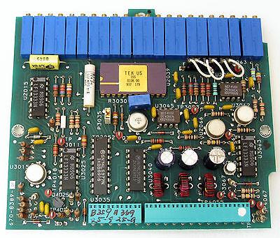 Tektronix 670-8389-01 A40 Board Video Processor 494a 494ap Working