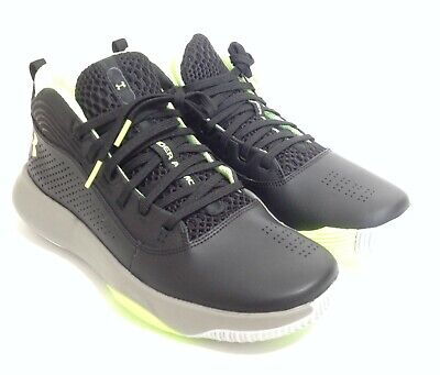 Under Armour Men's UA Lockdown 4 Basketball Shoes Black (007)X-Ray - Size 9.5 US