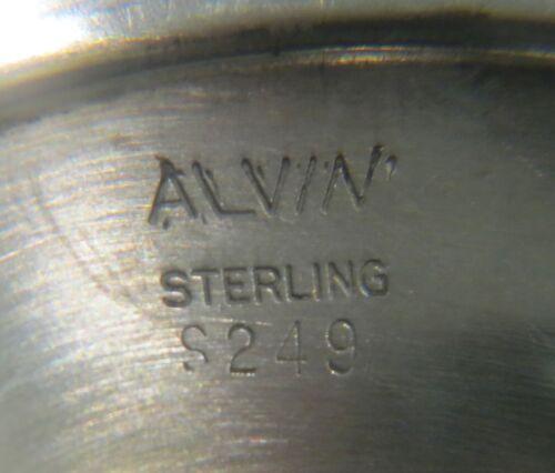 VINTAGE STERLING SILVER ALVIN S249 WATER GOBLETS CHALICE 925