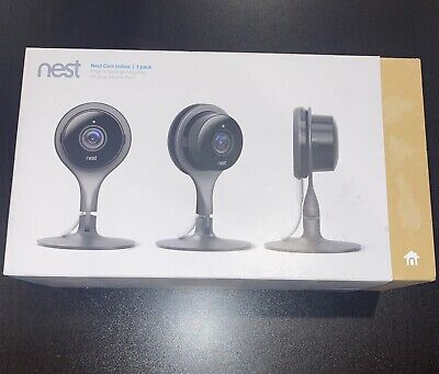 Google NC1104US Nest Cam Indoor Security Cameras - 3 Pack