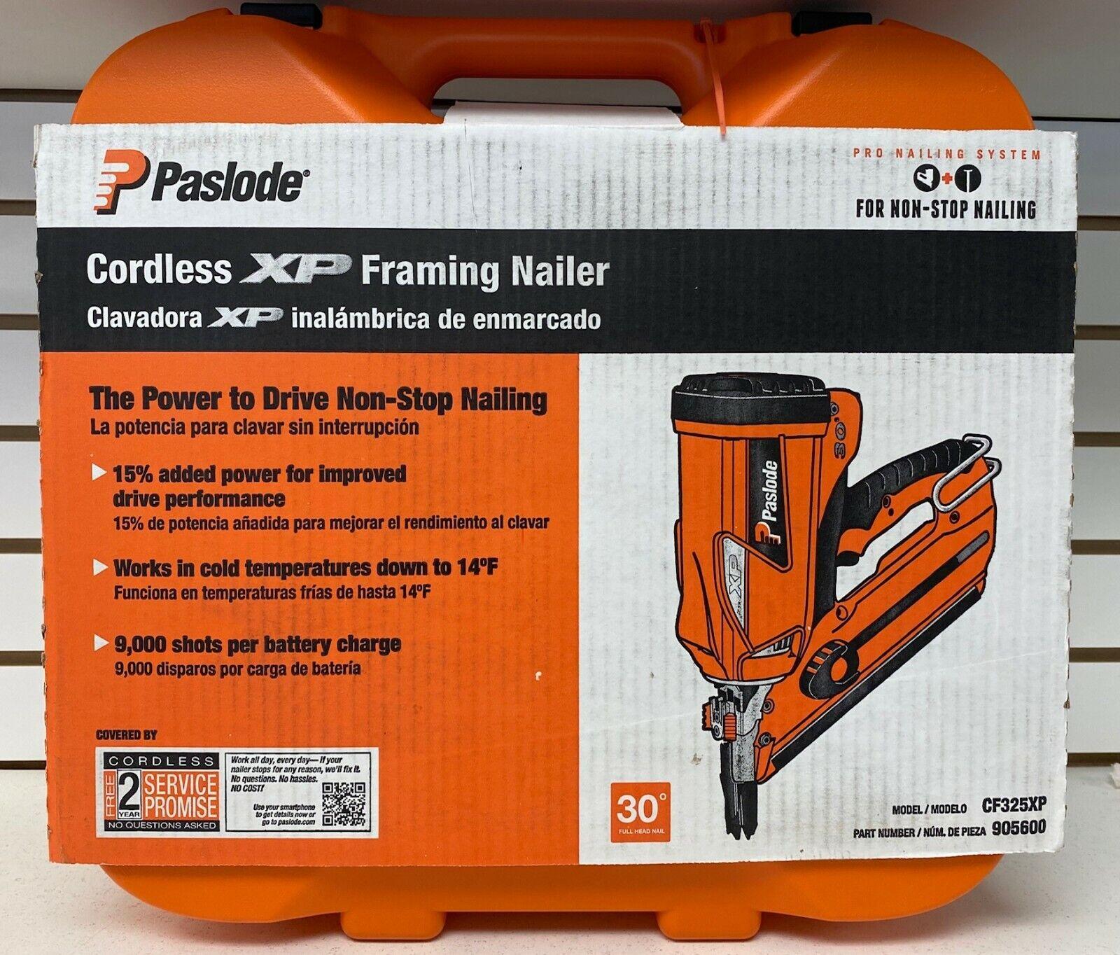 Paslode CF325XP Cordless 30 -Degree Framing Nailer Nail Gun,
