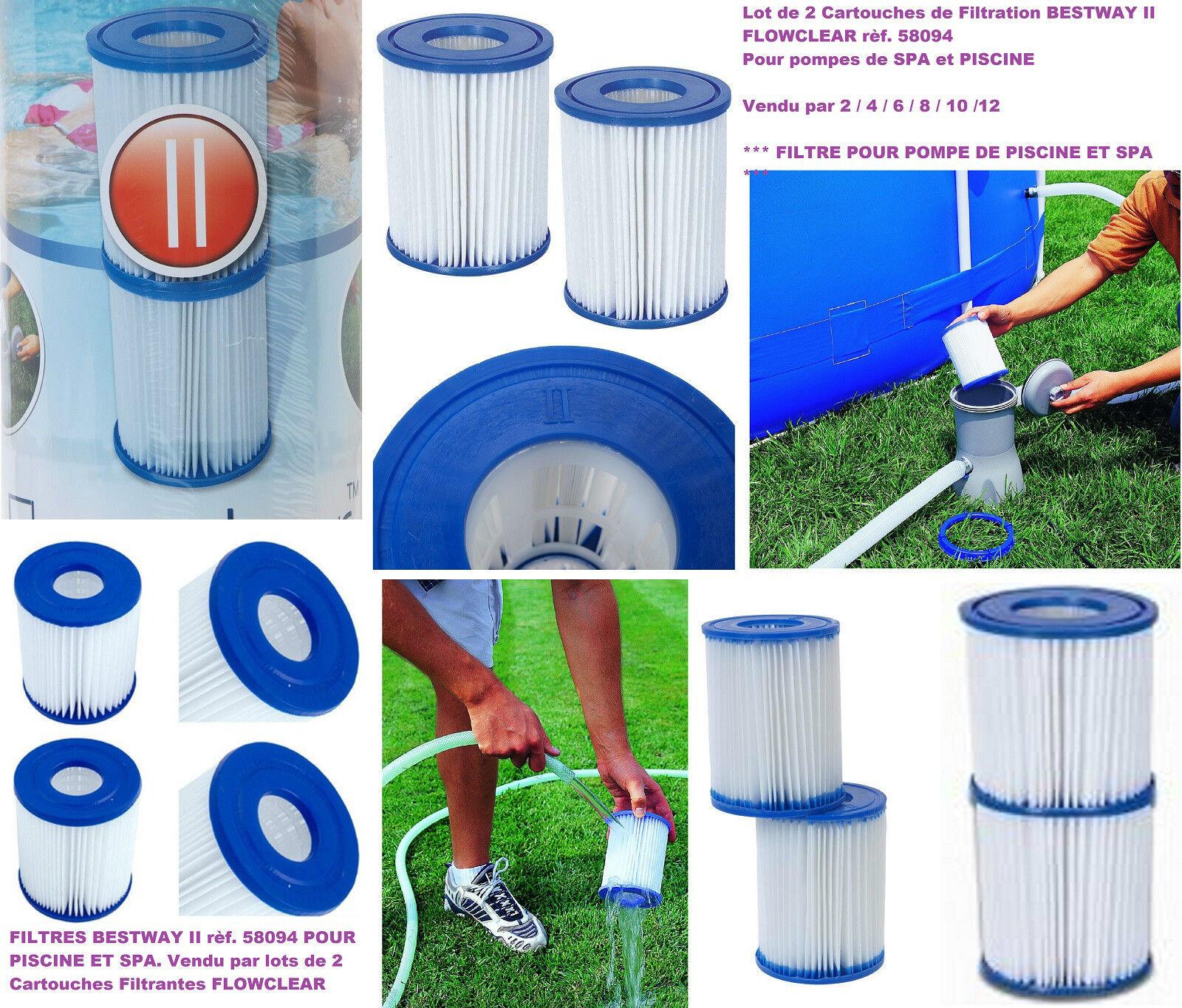 filtre piscine bestway 58094