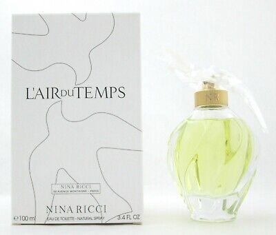 L'Air Du Temps Perfume by Nina Ricci 3.4 oz.EDT Spray New Tester with Cap
