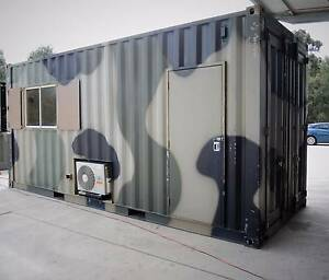 20' HIGH CUBE SHIPPING CONTAINER / OFFICE Eastern Creek Blacktown Area Preview