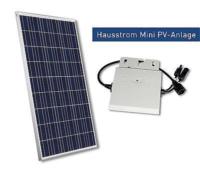 Hausstrom Mini PV-Anlage 260 Watt für die Hauseinspeisung in Markenqualität
