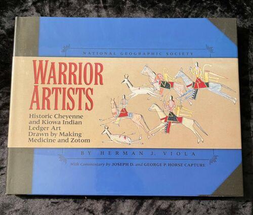 CHEYENNE & KIOWA WARRIOR ARTISTS NATIVE AMERICAN HARDBACK DUSTJACKET 1ST EDITIO