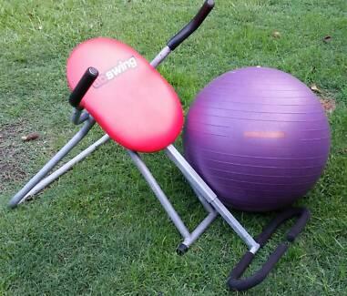 Ab swing and Yoga ball