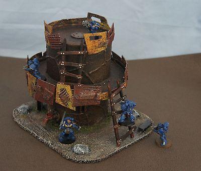 WARGAME Terrain Scenery ORK TOWER Hand-Crafted Warhammer 40 K