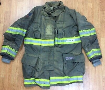 Globe G-xtreme Fire Fighter Jacket Turnout Coat W Drd 42 X 35 14