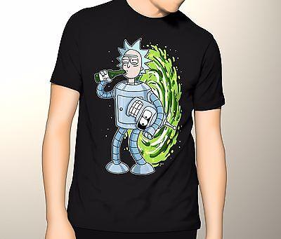 Rick and Morty Shirt, Bender Rick S-5XL Graphic T-Shirt