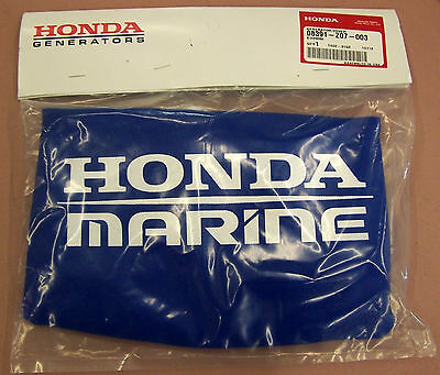 New Honda Generator Blue Sunbrella Cover With Honda Marine Logo 08391-z07-003