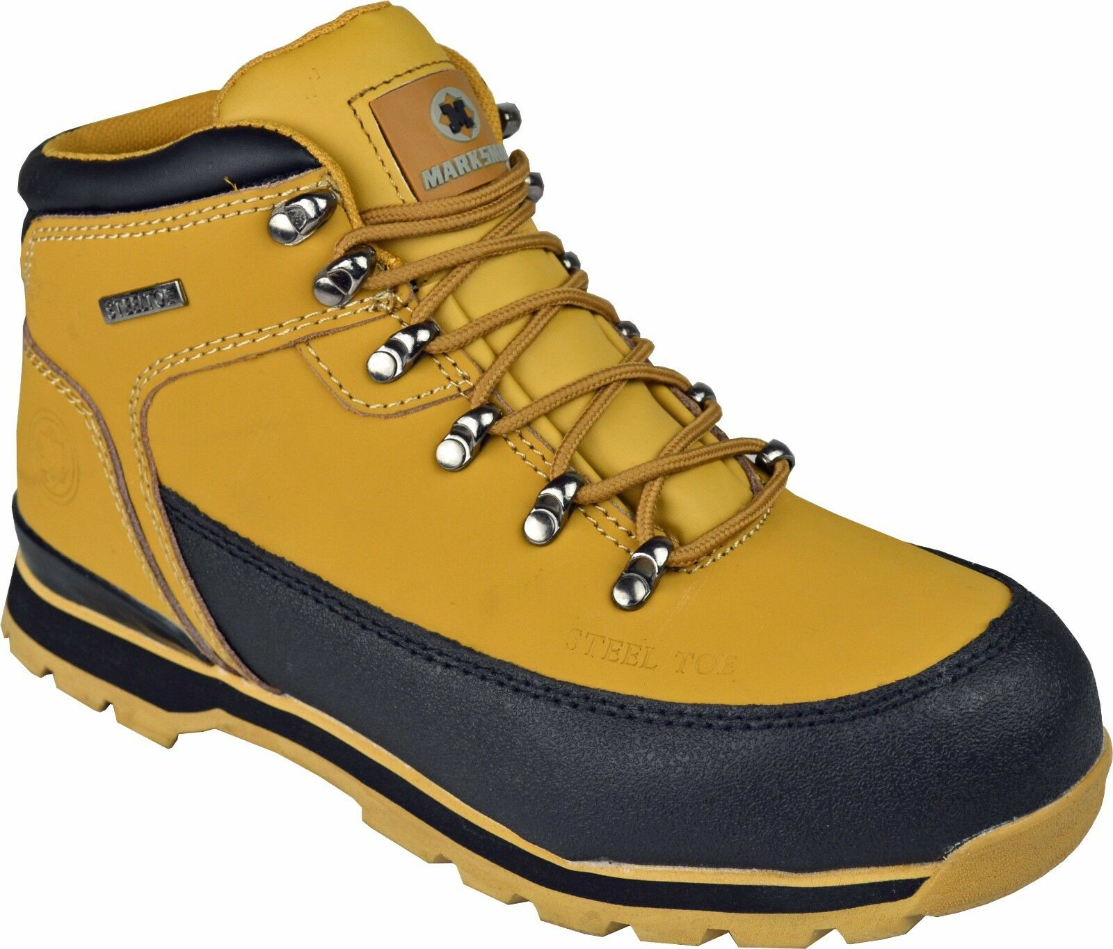 mens safety boots trainers shoes work steel toe cap. Black Bedroom Furniture Sets. Home Design Ideas