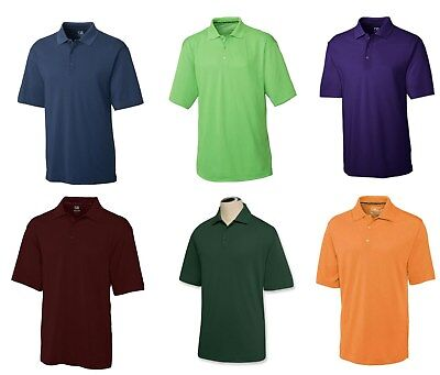 CUTTER BUCK Mens Golf CB DryTec Championship Polo Shirt NWT  many color choices