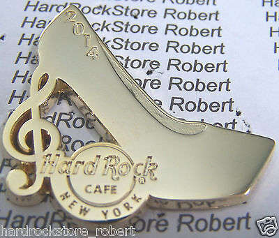 2014 HARD ROCK CAFE NEW YORK CITY SPRING FASHION WEEK/SHOE/CLEF LE PIN