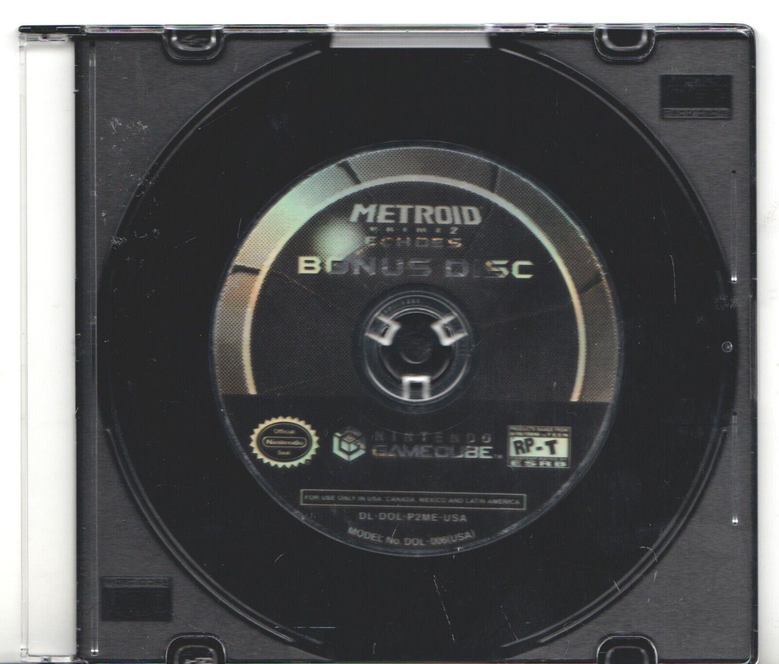 Video Game Only - METROID PRIME 2 ECHOES BONUS DISC - Nintendo GameCube