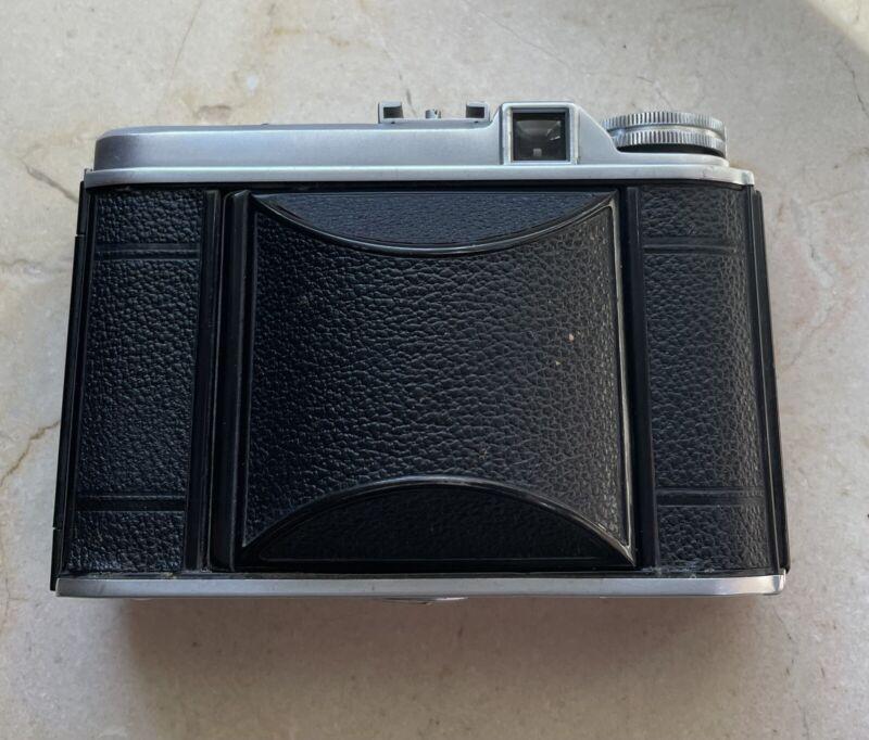 Germany Voigtlander Perkeo II 6x6 Folding Camera Color Skopar 80mm f3.5 READ