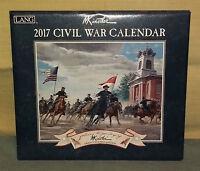 Calendario Da Parete Lang 2017 Civil War - Wall Calendar Nuovo Kunstler -  - ebay.it