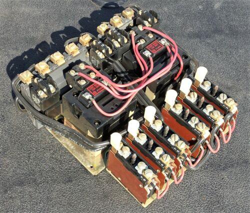 Allen Bradley 40151-406-04-303 Multi-Speed Motor Starter, NEMA Size 1, 120V Coil