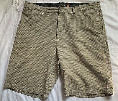 Quiksilver Waterman Collection Beige Striped Shorts Mens Size 36