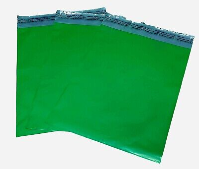 100 9x12 Green Poly Mailer Plastic Shipping Envelope Polymailer 2.5mil
