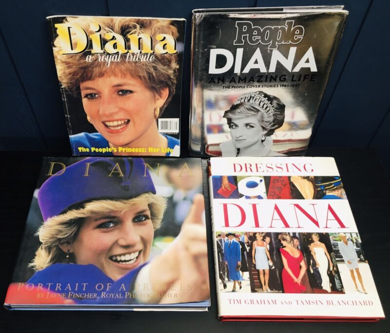 Princess Diana Books