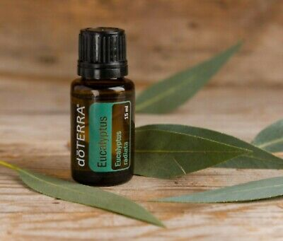 doTERRA Eucalyptus 15 ml - NEW & SEALED - EXP 2024 - FREE OIL CAP STICKER