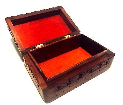 1. Saranpur Holz Kiste Box mit Kaschmir klappbar für 16,90€ inkl. Versand! Klappbarer Holz-box