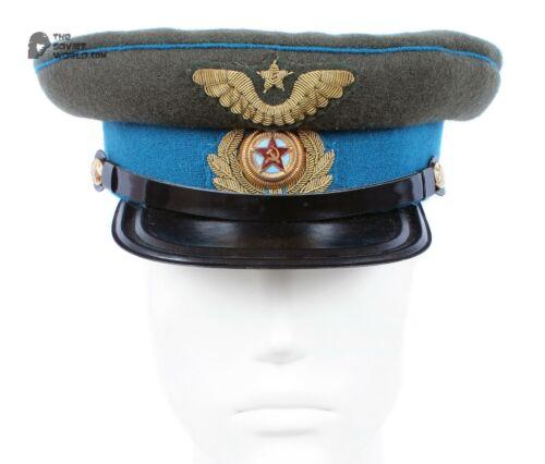 Soviet RKKA AIR FORCE USSR Hat with Handmade spun gold cockades sample 45th