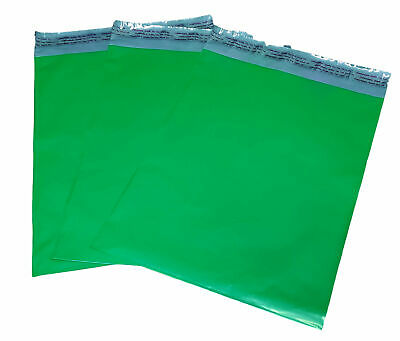 100 10x13 Green Poly Mailer Plastic Shipping Envelope Polymailer