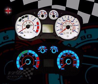 Ford Transit mk7 Van interior sport speedo clock dash dial bulb lighting kit