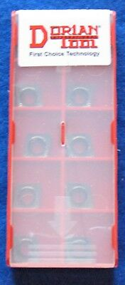 Dorian Tool Hp Ccgt-32.51-nfu-dnx10u - 7 Degree Ansi Tungsten Carbide -10 Pack
