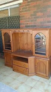vintage Wood cabinet good condition Kardinya Melville Area Preview