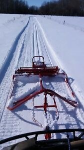 Trail groomers