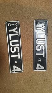 YLUST4 (Victorian Slimline Number Plates) Hallam Casey Area Preview