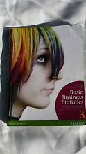 Basic Business Statistics (Concepts and Applications) 3rd edition Gordon Park Brisbane North East Preview