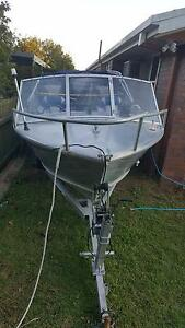 Aluminium 4.5m with near new 50hp Yamaha 2 stroke Manly West Brisbane South East Preview