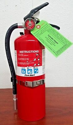 5lb Fire Extinguisher ABC Dry Chemical Rechargeable First Alert 3-A:40-B:C -