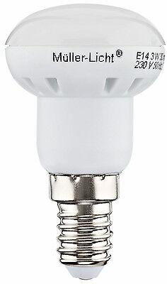 M LLER LICHT LED R39 E14 3W ERSETZT 25W 110 200LM 50CD 39X70MM 20 000H 24531