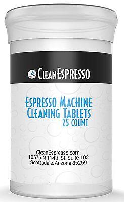 25 pack of Jura Capresso Espresso Machine Universal Cleaning Tablet     - Jura Capresso Espresso